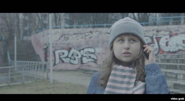 Кадр з кароткамэтражнага фільму «Дыялёг», Беларусьфільм 2017