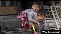 Screengrab of documentary film by Sarajevo bureau journalists Marija Arnautovic and Selma Boracic about the plight of Roma families.