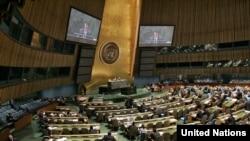 ՄԱԿ-ի Գլխավոր ասամբլեայի նստաշրջանը, արխիվային լուսանկար