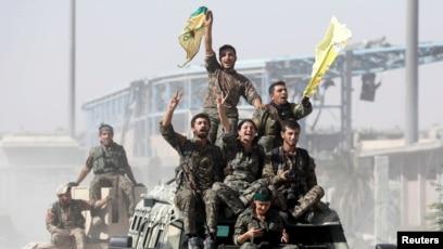 Kurdski vojnici, Sirija