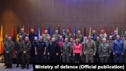 Делегација на Воениот комитет на НАТО во Скопје