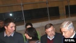 Уңнан икенче Владимир Зорин Фәрит Мөхәммәтшин янында