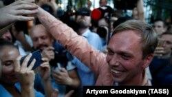 Иван Голунов после освобождения из под ареста