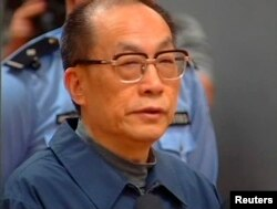 Лю Чжицзюнь, бывший министр железных дорог КНР, приговоренный в 2013 году к смертной казни по обвинению в коррупции