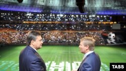 Рінат Ахметов і Віктор Янукович