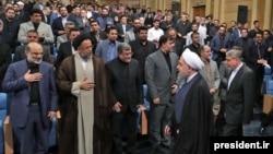 Иран президенті Хассан Роуханидің журналистермен кездесуі. Тегеран, 15 маусым 2017 жыл.