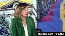 Вице-спикер Национального собрания, депутат правящей фракции «Мой шаг» Лена Назарян, Ереван, 16 июня 2019 г.