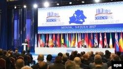 Сесія Парламентської асамблеї ОБСЄ в Мінську, Білорусь, 5 липня 2017 року