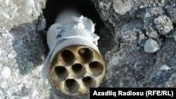 Azerbaijanda N saylı hərbi hissənin silah anbarında partlayış
