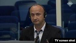 Svjedok Mile Janjić u sudnici, 10. svibanj 2013.
