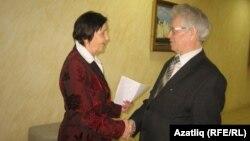 Гөлфидә Мәрдәнова һәм удмурт галиме Риф Нәсыйбуллин