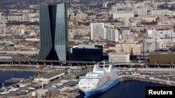 مقر شرکت کشتیرانی سیامای سیجیام در بندر مارسی فرانسه