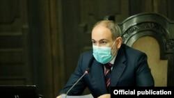 Armenia - Prime Minister Nikol Pashinian addresses the Government, Yerevan,13Jul,2020