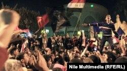 Анти-владини протести во Каиро.