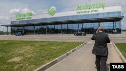 Moskwanyň golaýyndaky Žukowskiý halkara aeroporty.