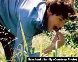 Надя Савченко в молодости