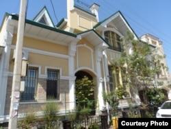 Дом на улице Спитамена в Ташкенте; фото: Ц-1.