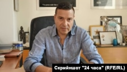"""Главният редактор на в. """"168 часа"""" Слави Ангелов"""