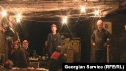 Чиатурские шахтеры (архив)