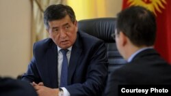 Prime Minister Sooronbai Jeenbekov's government took power in April. The president now has three working days to ask a parliamentary party to form a new coalition.