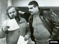 Сергей Довлатов и Петр Вайль. 1981