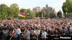 Armenia -- Armenian National Congress rally, 08May2012
