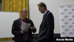 Владимир Гарначук и Алексей Навальный. Архивное фото
