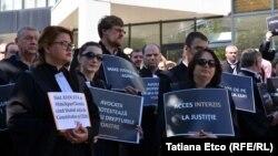 Flash mobul avocaților împotriva aplicării excesive a arestului preventiv. 26 iunie 2018