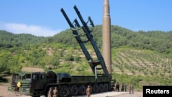 Северокорейская межконтинентальная баллистическая ракета