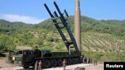 Шимолий Корея баллистик ракетаси.