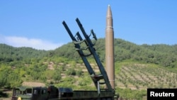 North Korea's intercontinental ballistic missile Hwasong-14