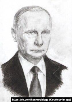 Владимир Путин в исполнении 17-летнего Сергея Заковряшина