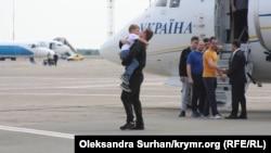 24 військові моряки повернулися в Україну 7 вересня у рамках обміну між Україною і Росією