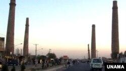نمای شهر هرات