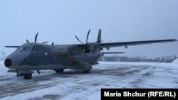 Чеський військовий літак, який використовують для урядових поїздок