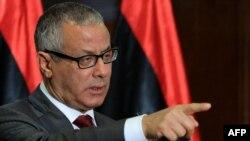 رئيس الحكومة الليبية المؤقتة علي زيدان