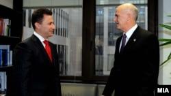 Од неодамнешната средба во Брисел меѓу Груевски и Папандреу