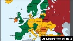 România se află printre țările surse ale traficului de persoană, conforma Raportului Departamentului de Stat.