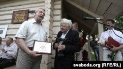 Прэмія «За свабоду думкі» — Лявону Вольскаму і Алесю Белакозу