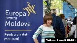 De Ziua Europei la Chișinău