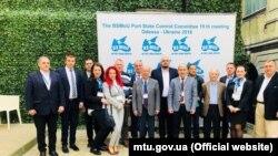 Участники Комитета Меморандума о взаимопонимании по контролю государством порта в Черноморском регионе, апрель 2018 года