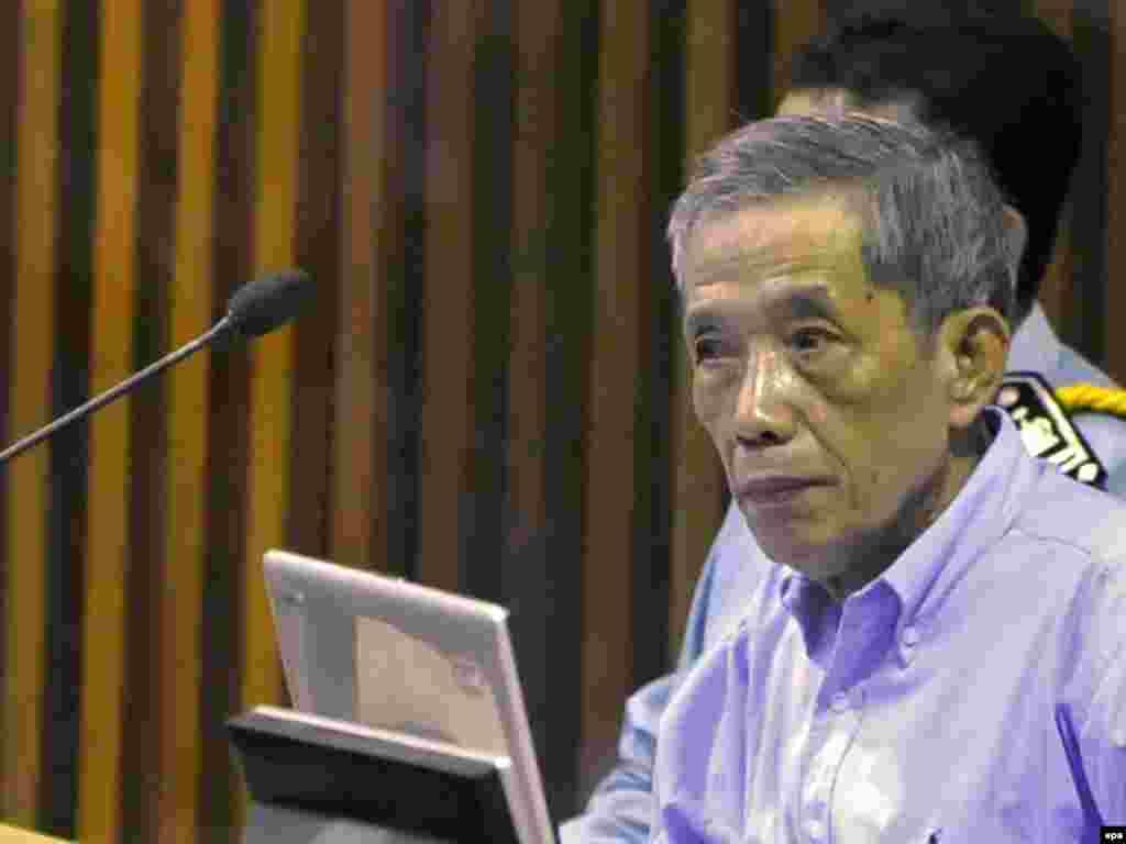 В Камбодже начался процесс на одним из лидеров Красных кхмеров Канг Кек Иеу