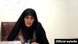 شهیندخت مولاوردی معاون امور زنان و خانواده ریاست جمهوری
