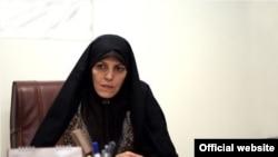 شهیندخت مولاوردی معاون امور زنان رئیس جمهوری ایران