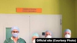Лікарі клініки міста Берґамо, епіцентру поширення коронавірусу в Італії