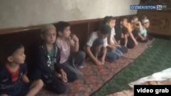 Скриншот из фильма «Мрак в худжре» («Хужрадаги зулмат»), показанного на телеканале «Узбекистан 24».