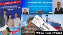Propagandă vizuală a germanilor din Rusia din AfD