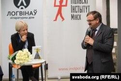 Малгажата Шэйнэрт і Валер Каліноўскі