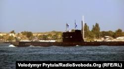 Украинаның «Запорожье» сүңгуір қайығы. Севастополь, 29 шілде 2012 жыл.