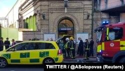 """Полицијата реагирала на """"инцидент"""" во Парсонс Греен станицата во југозападниот дел на Лондон,"""